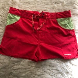 NWT Patagonia Girls Board Shorts, Size 14